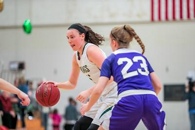 2018-02-15 Oxford Hills vs. Deering Girls' Basketball Playoffs