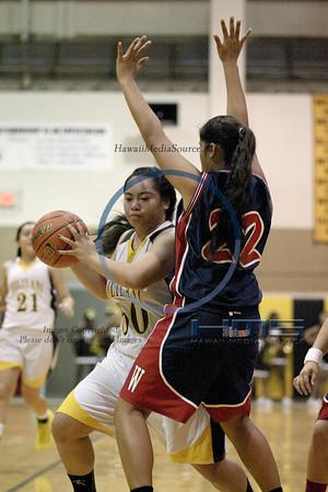 Mililani Girls JV Basketball - Wai 1-3-14