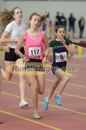 Girls' 1600, Gallery 2 - 2014 MITS State Meet