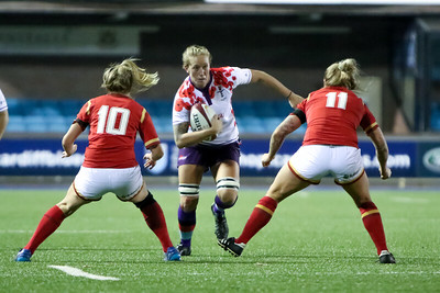 Wales vs UK Armed Forces Women's Rugby