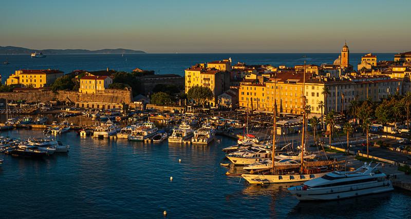 Ajaccio harbour