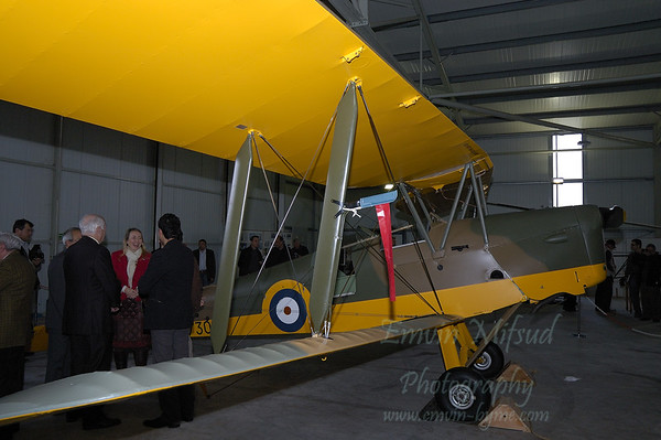 Lauching the Tiger Moth