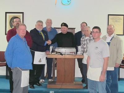 Grandfield Lodge #378 Installation