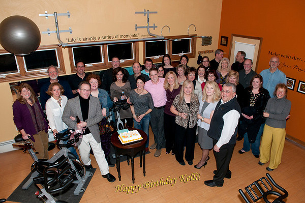 Studio 8 Fitness Biggest Winner Party and Kelli's Surprise!