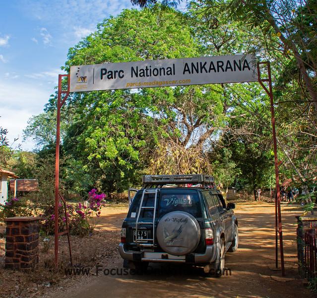 Ankarana Entrance