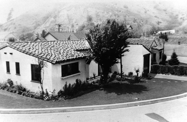 1939, Spanish Style Home
