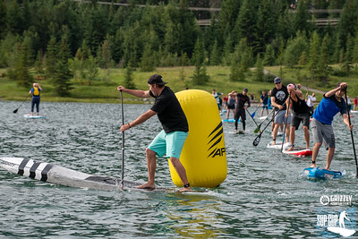 2019 Grizzly KCPO Paddle Board Race Lap 3