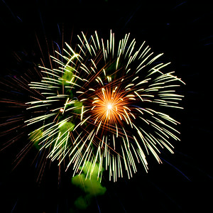 Fireworks at Canalside 07-04-14