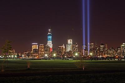 Freedom Tower / WTC / City Skyline 9-11-12