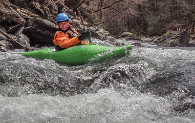2018-04-01 Middle Tellico, CCC Easter Trip