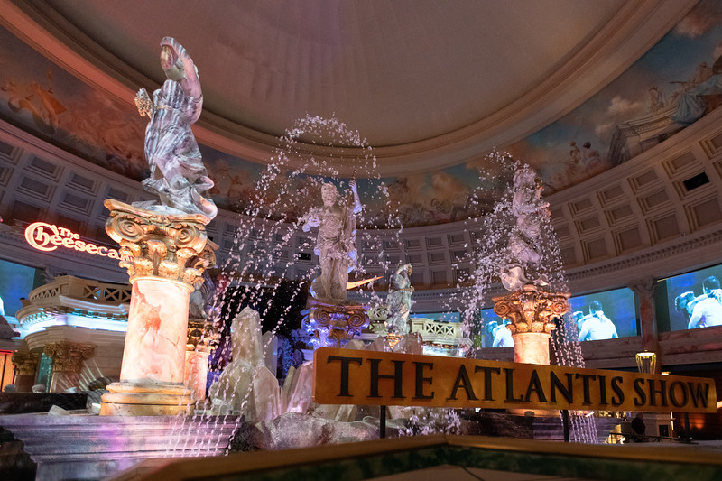 Forum Shoppes - The Atlantis Show