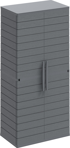 Vertical Cabinets Tall #1 Grey
