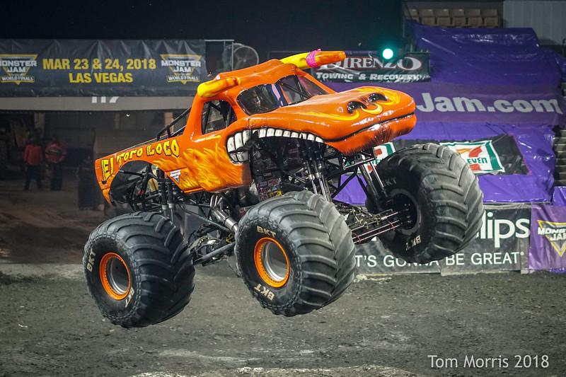 Monster Jam Worcester 2/17/18 (Saturday Night)