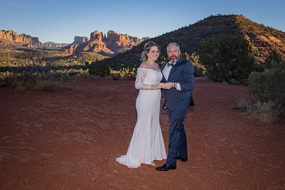 Julie & Robb's Sedona Wedding