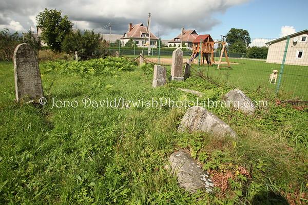 LITHUANIA, Kvedarna. Jewish cemetery. (9.2011)