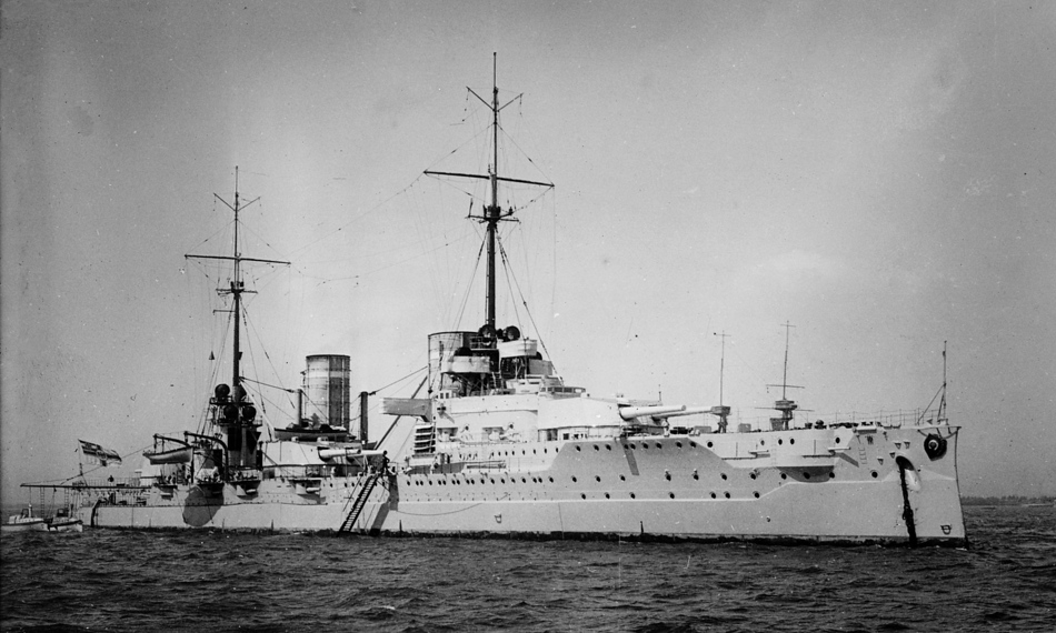 German Battle Cruiser,Von der Tan.