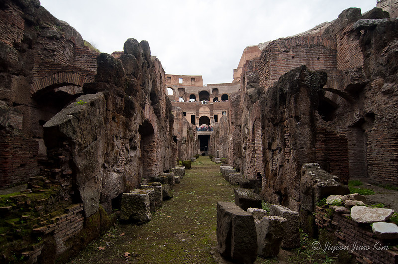 The Underground of Colosseum