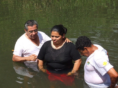 Baptism In Jinotega