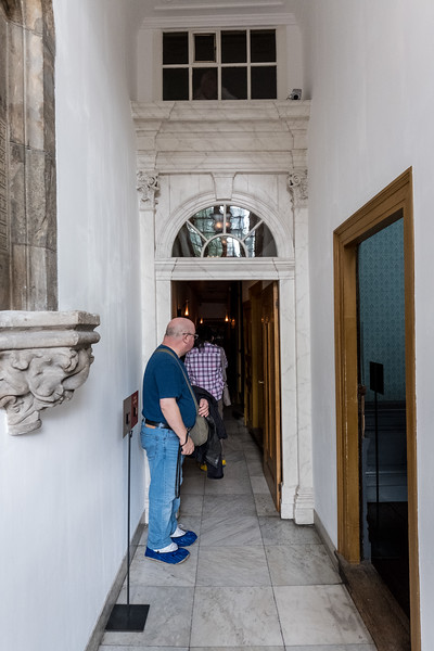 The Entrance to the Rooms Below the Church