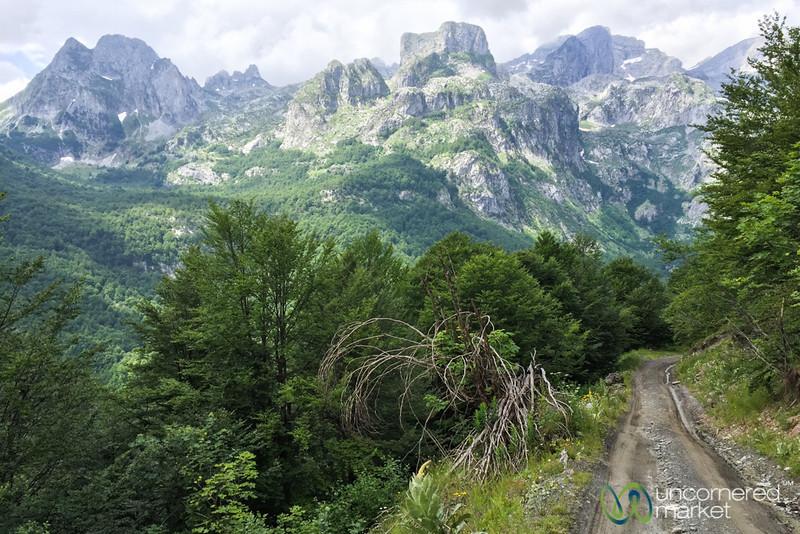 Mountain Roads and Vistas - Peaks of the Balkans,Albania