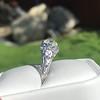 1.11ct Old European Cut Diamond Filigree Ring 6