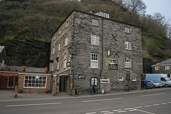 Trip to Cornwall for Steven Chopaks 50th - Boscastle - 31st January 09