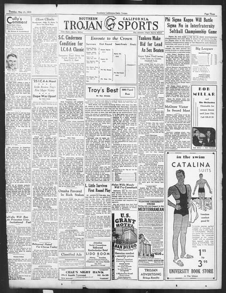 Daily Trojan, Vol. 26, No. 141, May 21, 1935