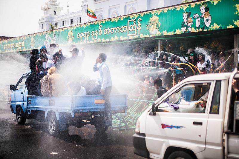Yangon thingyan