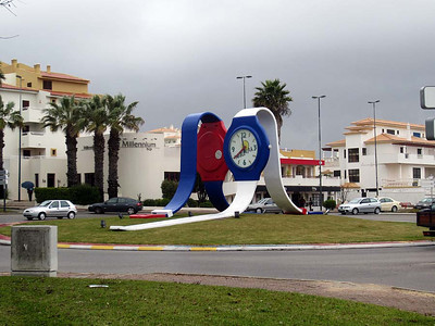 Monday 31 March 2014 : Olhos d'Agua and Albufeira, Algarve