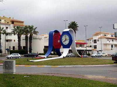 Albufeira, Algarve : traffic roundabouts [Vivienne]