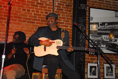 """Rude Love and Rudy Love Jam at """"The Lighthouse Cafe"""" in Hermosa Beach, Calif Dec 24, 2012"""