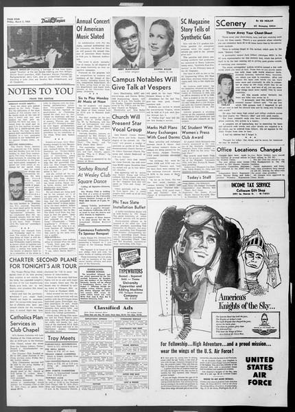 Daily Trojan, Vol. 45, No. 87, March 05, 1954