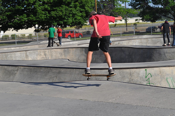 11'Hillyard Skate BBQ
