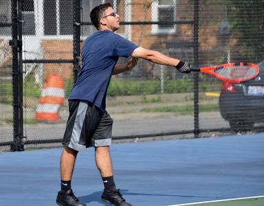 HS Sports - Johnn Glenn at Fordson Boys Tennis 19