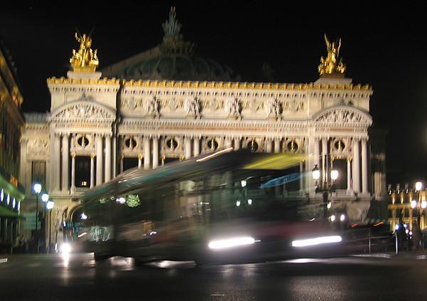 Paris at Night - Opera