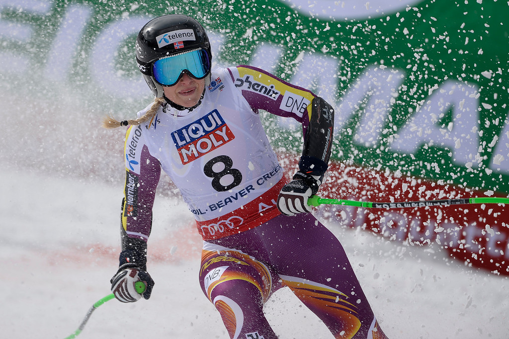 . BEAVER CREEK, CO - FEBRUARY 03: Ragnhild Mowinckel of Norway competes during the the ladies\' super-G finals. FIS Alpine World Ski Championships 2015 on Tuesday, February 3, 2015. (Photo by AAron Ontiveroz/The Denver Post)