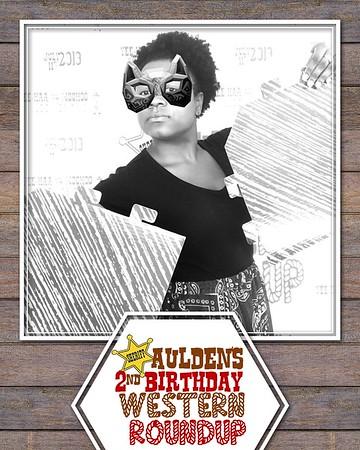 Aulden's 2nd Birthday Western Roundup (07/20/19)