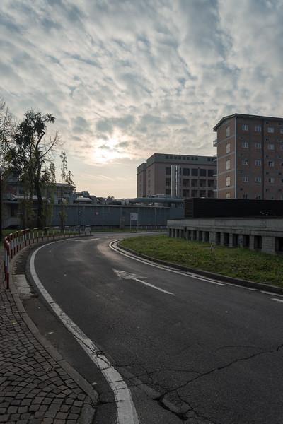Urban Sunsrise - Santa Maria Nuova Hospital, Reggio Emilia, Italy - November 22, 2014