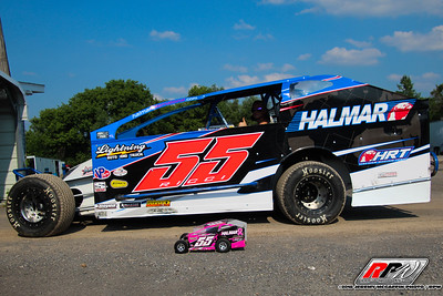 Utica-Rome Speedway-King of Dirt 358 Modified and Sportsman Series-Jeremy McGaffin-July 1, 2018