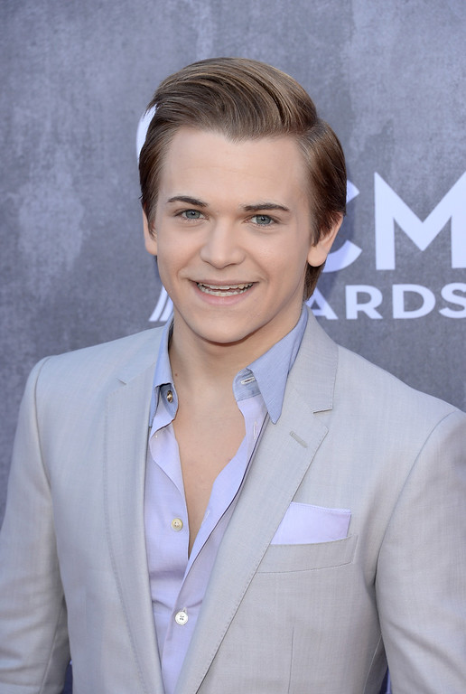 . Singer Hunter Hayes attends the 49th Annual Academy Of Country Music Awards at the MGM Grand Garden Arena on April 6, 2014 in Las Vegas, Nevada.  (Photo by Jason Merritt/Getty Images)