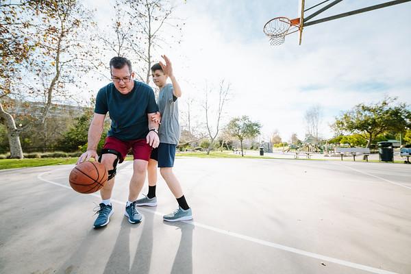 Fusion OA Knee Brace Basketball Hi Res