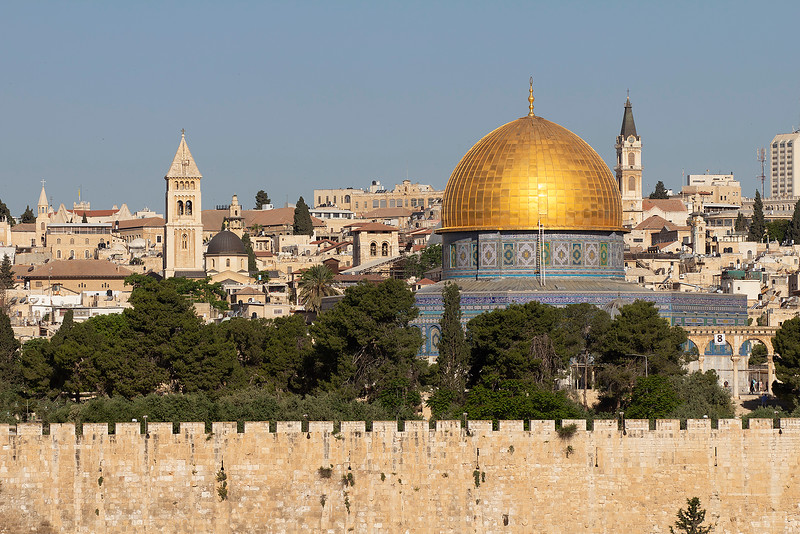 Dome of the Rock with other Monuments of Old Jerusalem