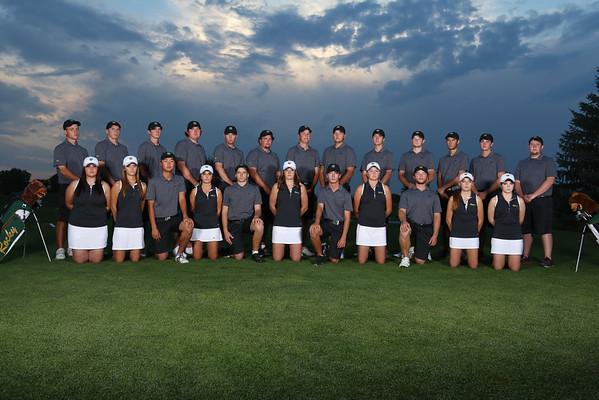 Golf 2015 Team, Individual, Action