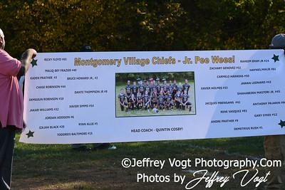 10-20-2013 Montgomery Village Sports Association Chiefs vs LRAA PeeWee JR, Photos by Jeffrey Vogt Photography