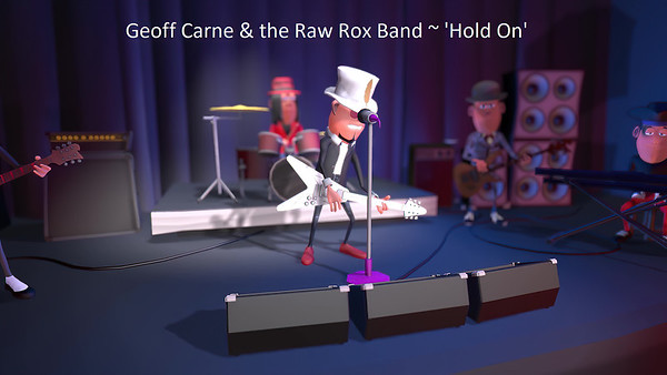 Geoff Carne & The Raw Rox Band Release 'Big Town'