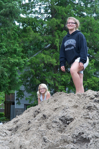 Climb every mountain (of sand and debris)