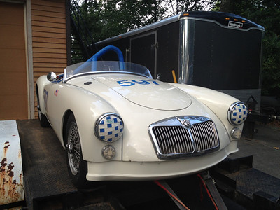 59 MGA Race Car As Bought