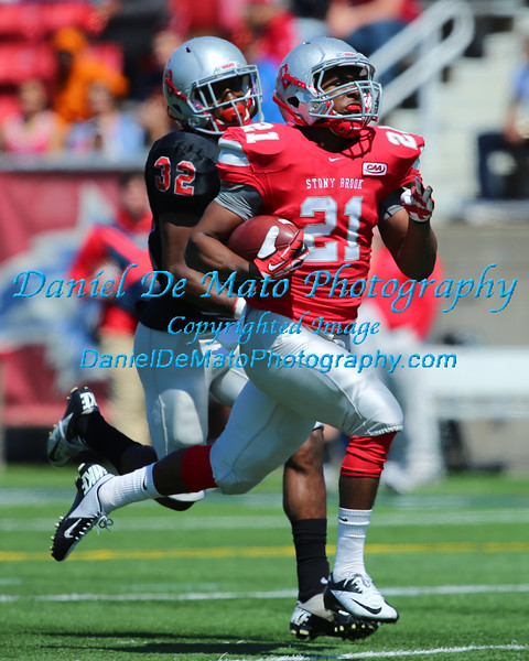 2014 Stony Brook Seawolves Red and Black game 4-26-14