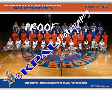 2014-15 Basketball Team Photos