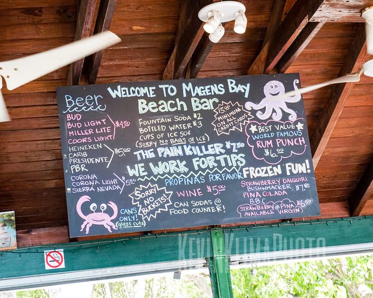 Magens Bay Beach Bar